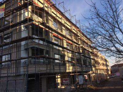 Residential building in Sarafovo Residential Area,